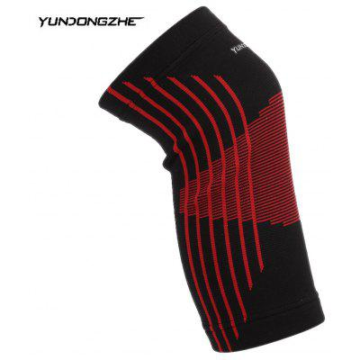 YUNDONGZHE Elastic Knee Support Brace Protector Pad