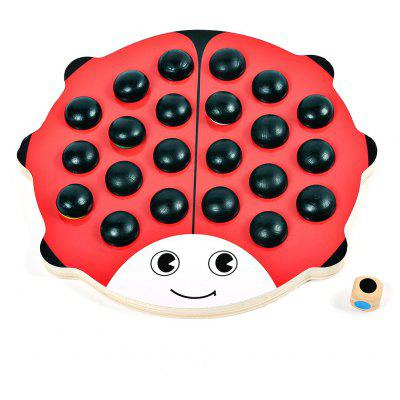 Qiaomujiang Wooden Memory Chess Game Educational Toy