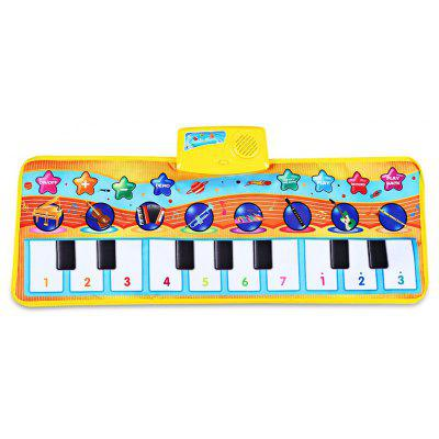 Zhongze Toys Musical Instrument Piano Carpet for Kids