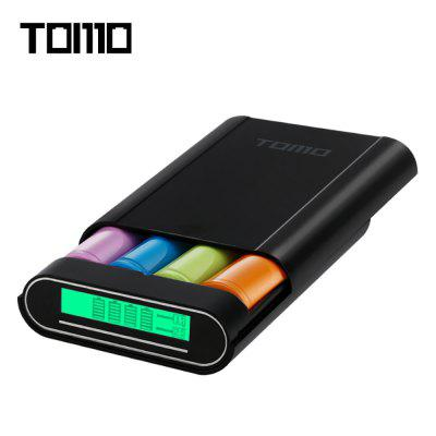 TOMO M4 DIY 4x 18650 Power Bank Black