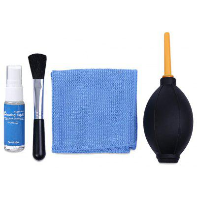4-in-1 Brush / Cloth / Air Blower / Liquid Lens Cleaner Kit
