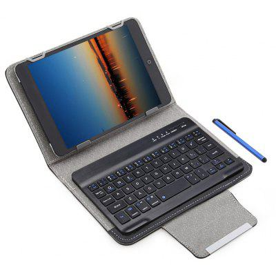 3 em 1 Bluetooth 3.0 Keyboard Protective Case 7/8 inch Tablet