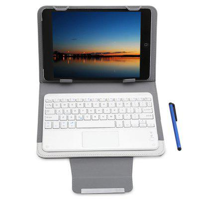 3 in 1 Bluetooth Keyboard Touch Control Tablet Case 9 / 10 inchipad Keyboards<br>3 in 1 Bluetooth Keyboard Touch Control Tablet Case 9 / 10 inch<br><br>Function: Anti-knock, Dirt-resistant<br>Package Contents: 1 x Smart Case, 1 x Bluetooth Keyboard, 1 x Touch Pen, 1 x USB Cable<br>Package Size(L x W x H): 37.00 x 27.00 x 4.00 cm / 14.57 x 10.63 x 1.57 inches<br>Package weight: 0.485 kg<br>Product weight: 0.443 kg<br>Type: Case