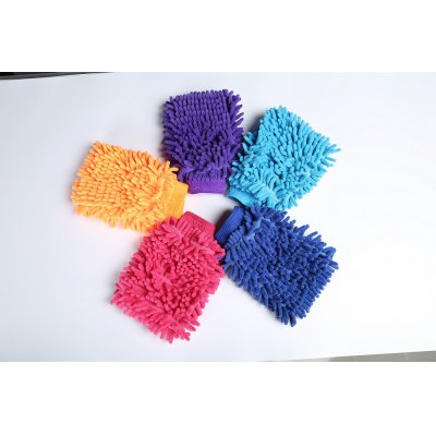 Mikrofibër Dual-sided Car Wash Mitt