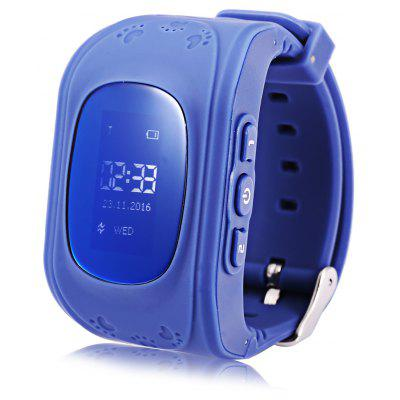 Q50 (q1213) LCD Display Kids GPS Smart Watch Telephone