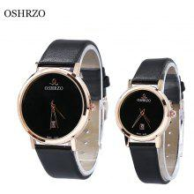 OSHRZO os8018p3 Couple Quartz Date Display Watch