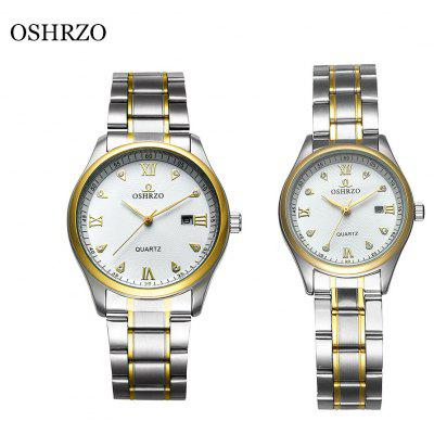 OSHRZO os8017g2 Couple Quartz Watch