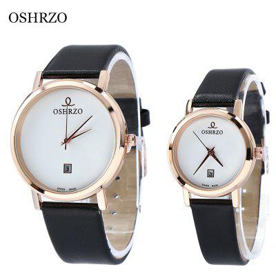 OSHRZO os8018p3 Couple Quartz Watch