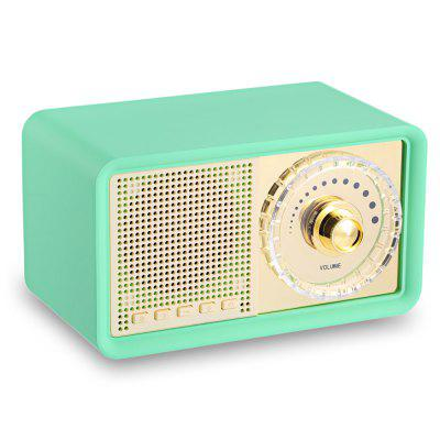 AIBIMY MY100BT Portable Retro Bluetooth Speaker