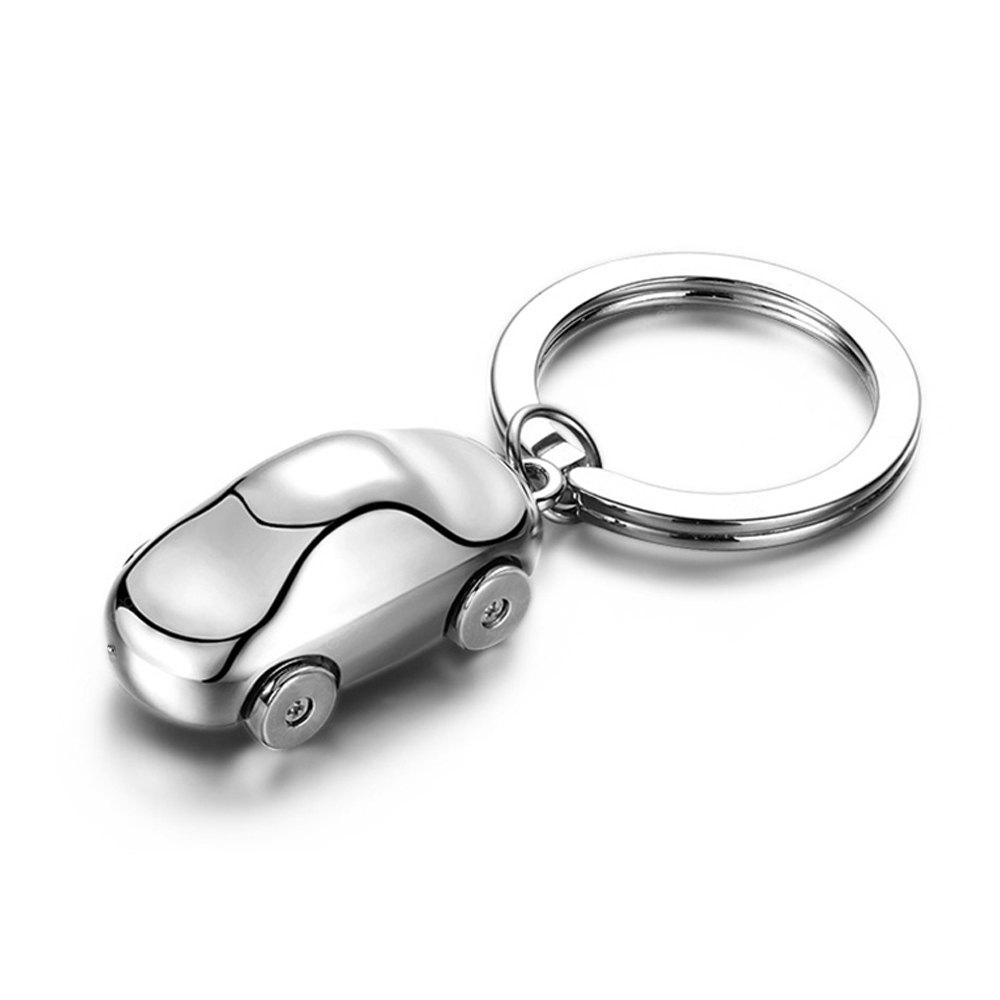 Metal Mini Car Model Pendant Keyring