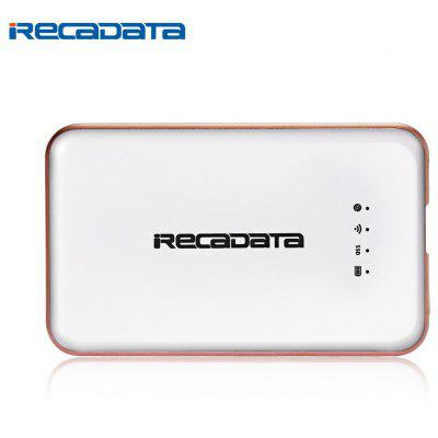 iRecadata i7 Portable External Type-C Solid State Drive SSD Wireless WiFi Router 2250mAh Power Bank