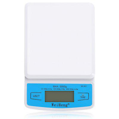 WeiHeng WH-B17 0.1g / 3kg Mini Kitchen Electronic Scale