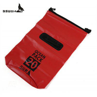 BSWOLF 20L PVC Tarpaulin Waterproof Beach Dry Bag