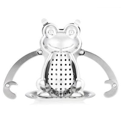 Stainless Steel Frog Shape Mesh Tea Infuser Strainer
