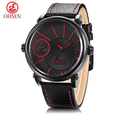 OHSEN TX2903 Male Dual Quartz Watch