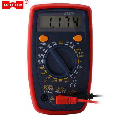 WHDZ DT33B Digital Multimeter AC DC Tester