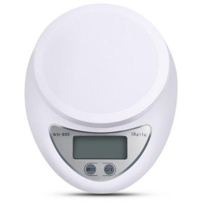 WeiHeng WH-B05 1g / 5kg Precise Digital Electronic Kitchen Scale Food Weighing Device