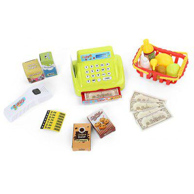 Mini Simulation Appliance Cash Register Kids Educational Pretend Play Gift