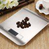 5000g / 1g Digital LCD Electronic Scale Kitchen Tool - SILVER