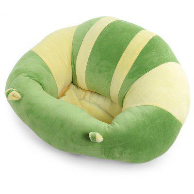 Buy YELLOW + GREEN Sofa Plush Toy Floor Seat Cushion Plush Birthday Gift for $19.83 in GearBest store