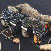EMAK Survival Bracelet Watch - BLUE AND RED