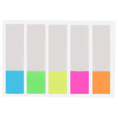 Fluorescent Index Sticker
