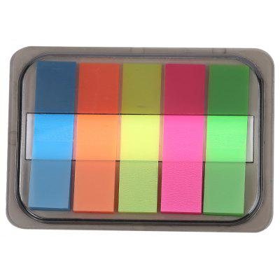 Fluorescent Sticky Note Memo