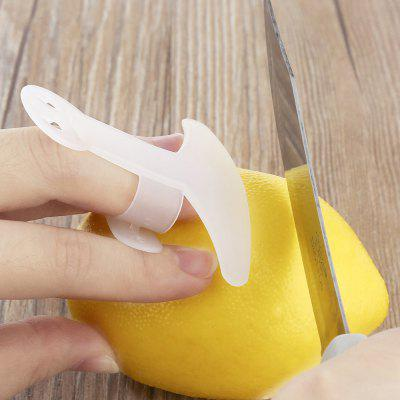 New Finger Guard Protector From Kitchen Knife Chop Cut - White