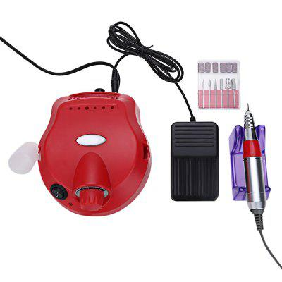 Electric Polisher File Manicure Pedicure Nail Glazing Machine