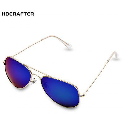 HDCRAFTER Unisex Reflective Sunglasses