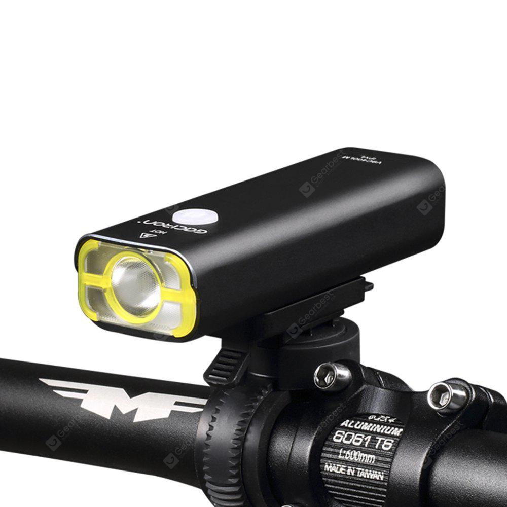 GACIRON V9 USB Rechargeable Bike Front Flashlight Headlight