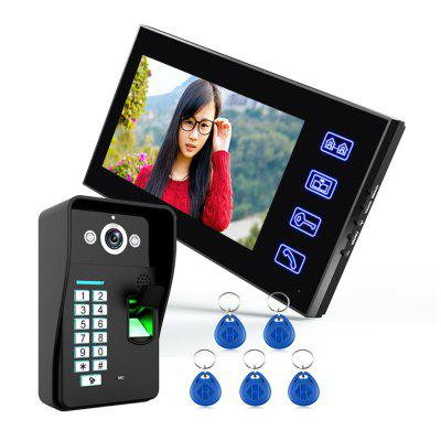 SY816A - MJF11 7 Inches Video Door Phone Intercom Doorbell