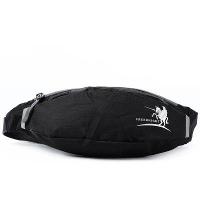 Buy BLACK Free Knight FK0807 Unisex Water Resistant Running Waist Bag for $4.16 in GearBest store