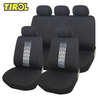 TIROL Universal Car Front Back Seat Cover