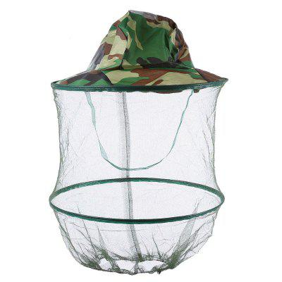 LEO Anti-mosquito Fishing Mesh Face Cap