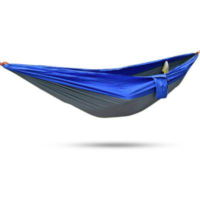 2 Person Assorted Color Parachute Nylon Fabric Hammock