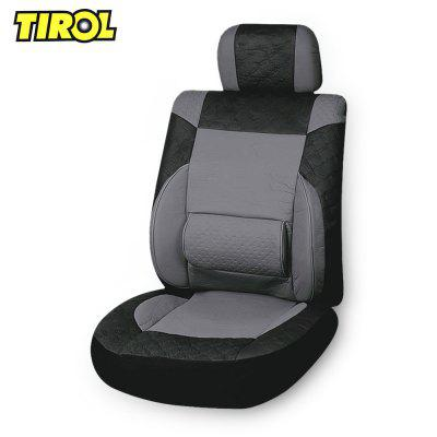 TIROL Universal PU Leather Car Seat Cover