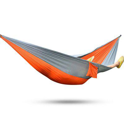 2 Person Hammock Assorted Color Parachute Nylon Fabric