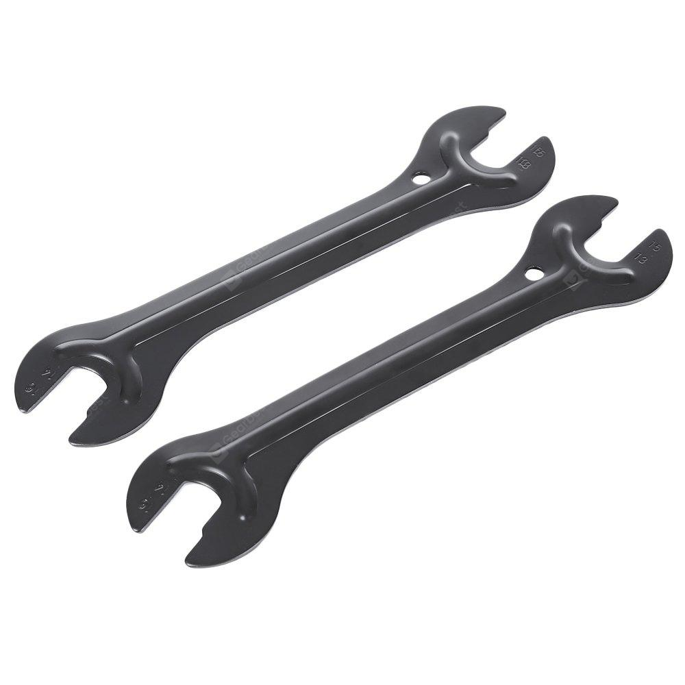 2pcs Bike Dual-use Open Wrench Bicycle Spanner