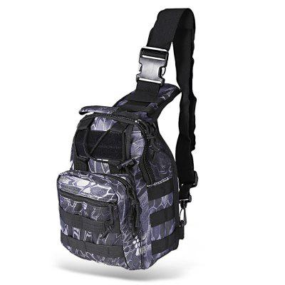 600D Oxford Fabric Tactical Backpack Crossbody Bag