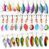 30Pcs Fishing Hard Baits with 2 Metal Hooks - COLORMIX