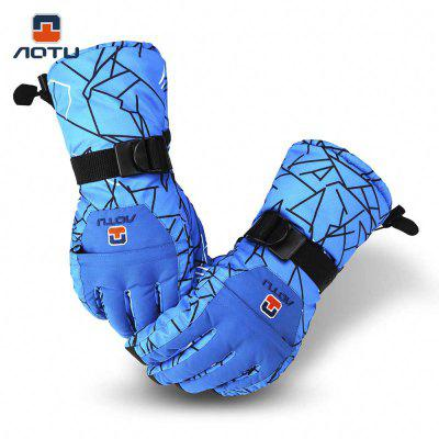 Aotu Paired Snowboard Gloves