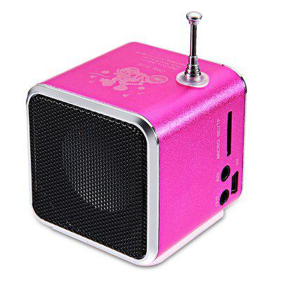 Bluetwos TD - V26 Digital LCD FM Sound Speaker