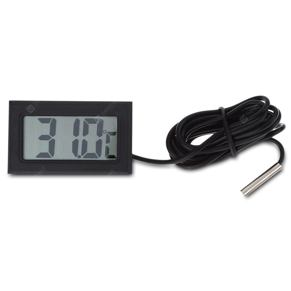 Digital Thermometer LCD Instant Read Waterproof Detector