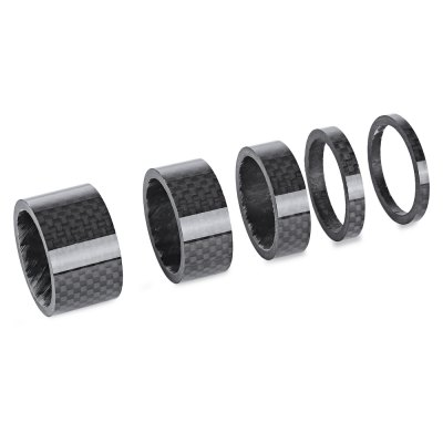 5pcs Bicycle Carbon Fiber Headset Washer Spacer