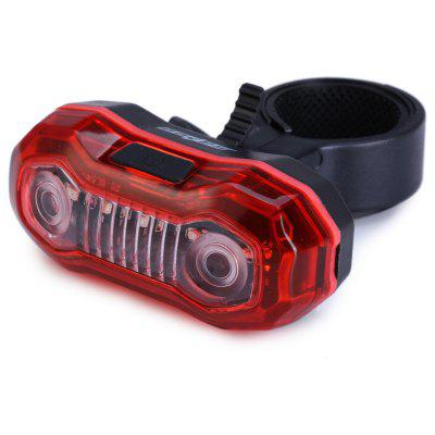 SAHOO 5 LED Bicycle Tail Light Rear Lamp