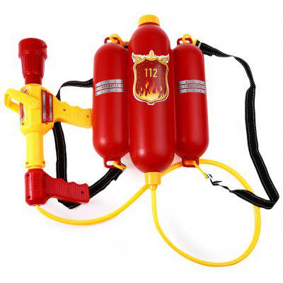 Kids Fire Backpack Pressure Squirt Pool Toy