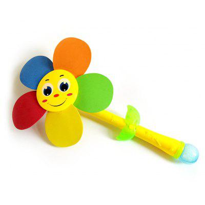 Sunflower Electric Bubble Windmill Toy