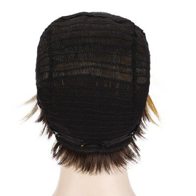 EMMOR Short Women Side Bangs Yellow Wigs Human Hair WigsHuman Hair Wigs<br>EMMOR Short Women Side Bangs Yellow Wigs Human Hair Wigs<br><br>Can Be Permed: Yes<br>Cap Size: Adjustable<br>Gender: Female<br>Lace Wigs Type: Lace Front Wigs<br>Length: Short<br>Length Size(CM): 23cm<br>Length Size(Inch): 9.06inch<br>Material: Synthetic High Temperature Hair<br>Net Type: Lace Net<br>Package Contents: 1 x Wig<br>Package size (L x W x H): 30.00 x 20.00 x 5.00 cm / 11.81 x 7.87 x 1.97 inches<br>Package weight: 0.1400 kg<br>Product size (L x W x H): 23.00 x 5.00 x 5.00 cm / 9.06 x 1.97 x 1.97 inches<br>Product weight: 0.0950 kg<br>Style: Straight<br>Type: Full Wigs