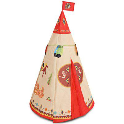 Children Portable Indian Castle Play Tent